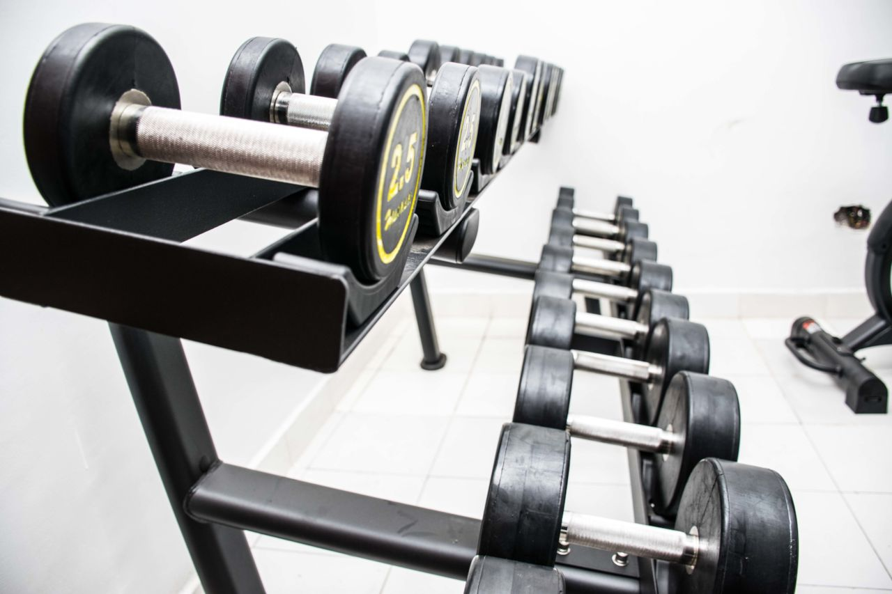 Limpopo Hotel Suites - Gym Weights